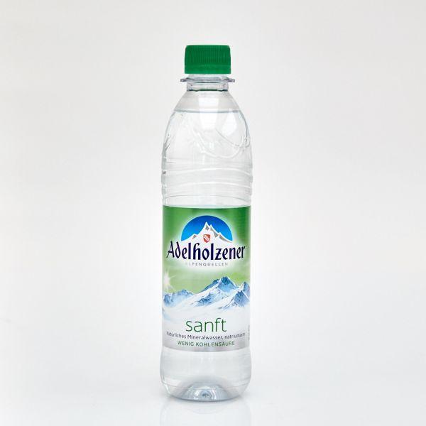 Adelholzener Mineralwasser sanft (0,5 l PET)