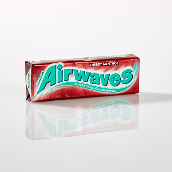 Airwaves Cherry Menthol Kaugummi