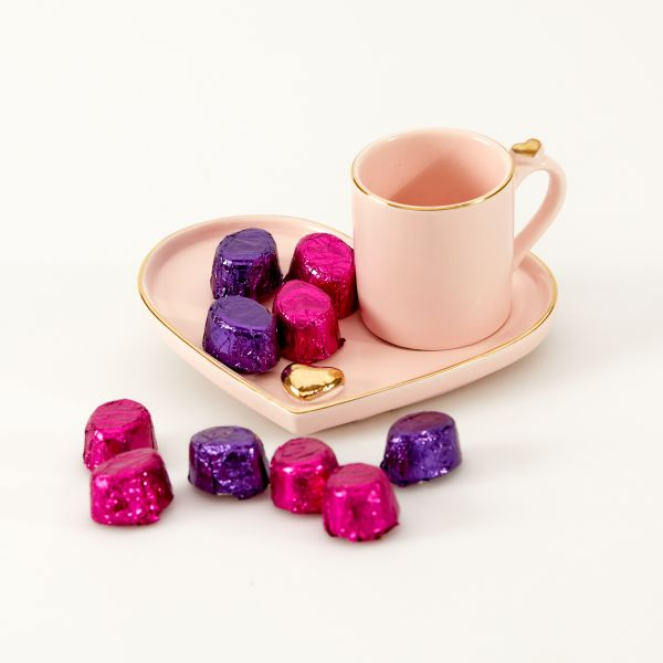 """Geschenkset Espresso Tasse """"Sweet Love"""""""