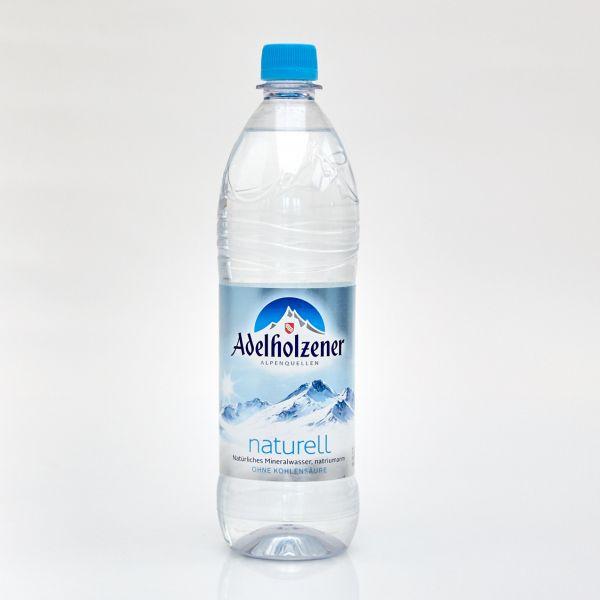Adelholzener Mineralwasser naturell (1,0 l PET)