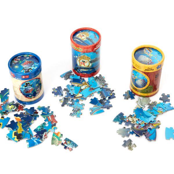 "Mini-Puzzle ""Capt'n Sharky Tiefsee"""