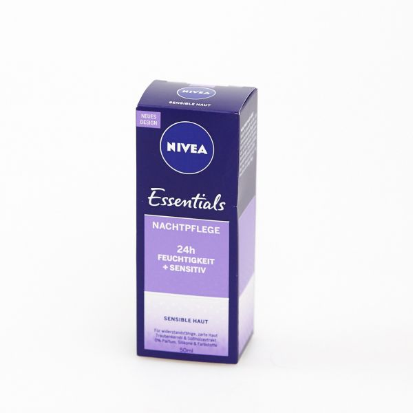 Nivea Essentials Nachtcreme Sensitiv