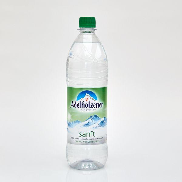Adelholzener Mineralwasser sanft (1,0 l PET)