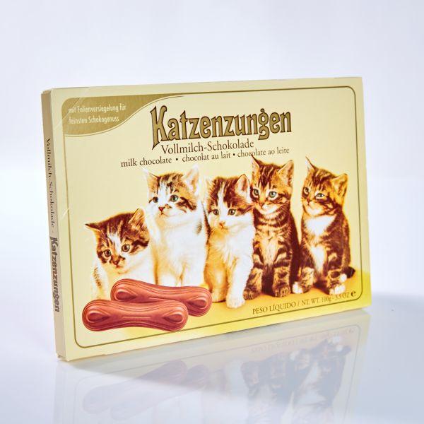 Katzenzungen Vollmilch 100 g