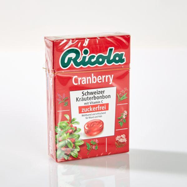 Ricola Kräuterbonbons Canberry 50 g