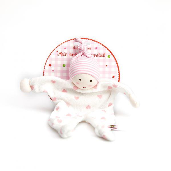 Mein erstes Schmusetuch BabyGlück, rosa