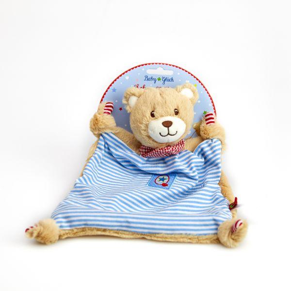 Schnuffeltuch Teddy BabyGlück, blau