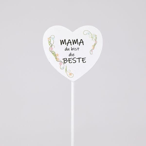 """Blumenstab """"Für Mama!"""""""