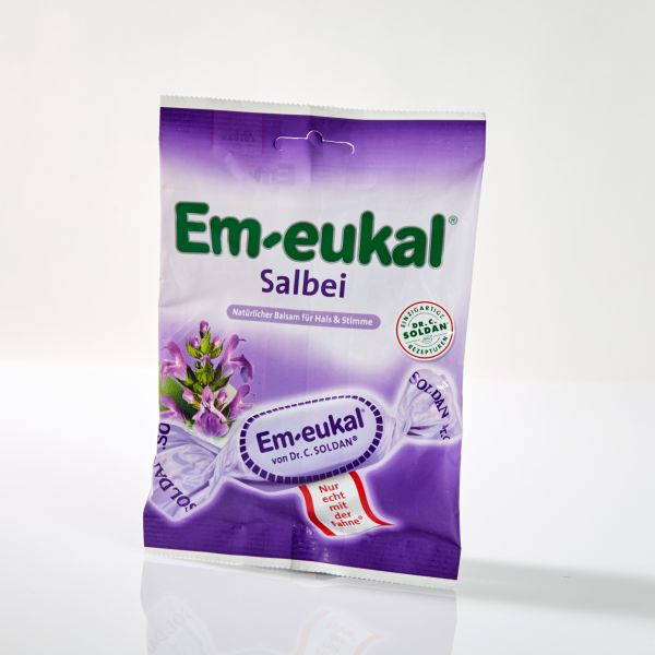 Em-eukal Salbei Hustenbonbons 75 g