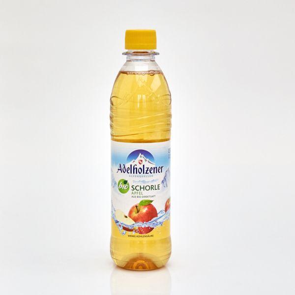 Adelholzener Bio Schorle Apfel (0,5 l PET)