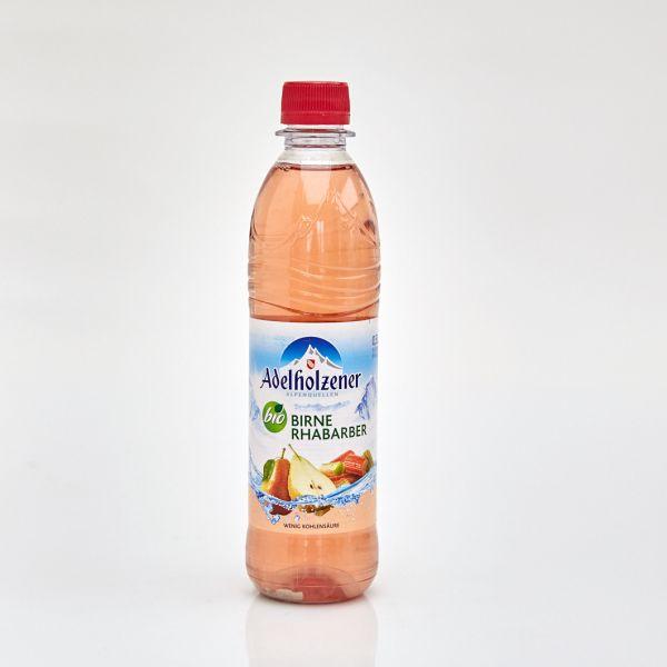 Adelholzener Bio Erfrischungsgetränk Birne Rhabarber (0,5 l PET)