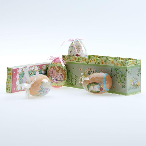 """Eierbox """"Happy Easter"""" groß"""