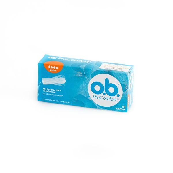 O.B. Tampons Pro Comfort super