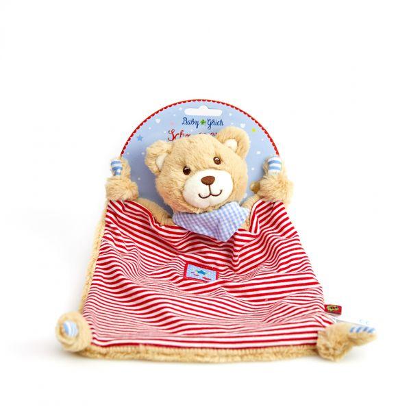 Schnuffeltuch Teddy BabyGlück,rot