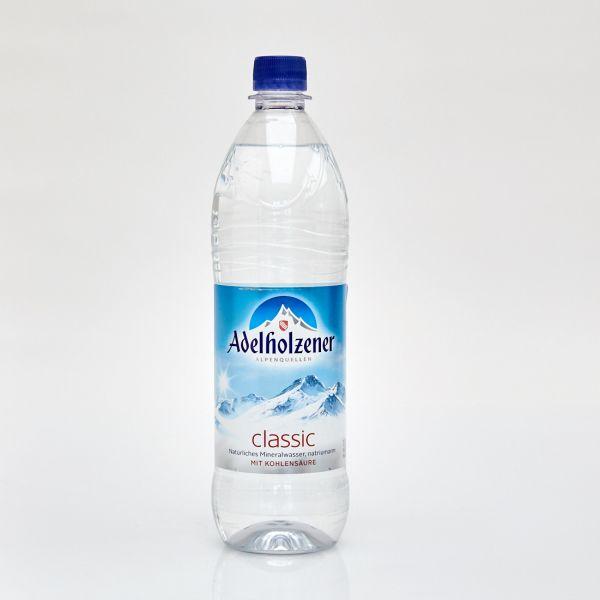 Adelholzener Mineralwasser classic (1,0 l PET)