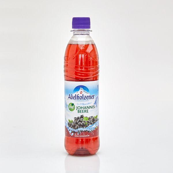 Adelholzener Bio Erfrischungsgetränk Johannisbeere (0,5 l PET)