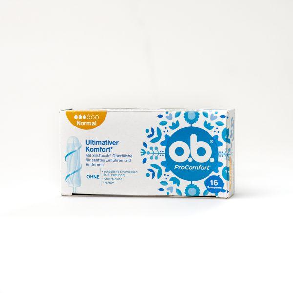 O.B. Tampons Pro Comfort Normal , 16 St