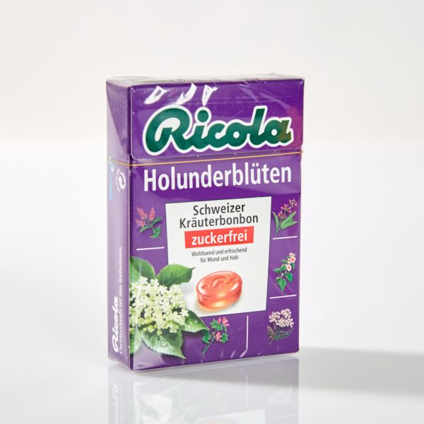 Ricola Kräuterbonbons Holunderblüte 50 g